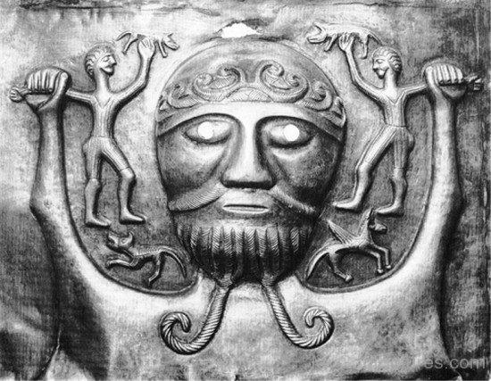 Sculpture Of Dagda-qol822