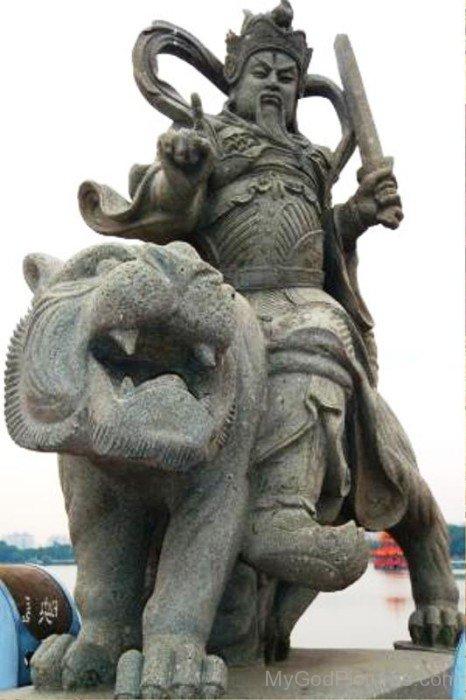 Shangdi Statue-sxo914