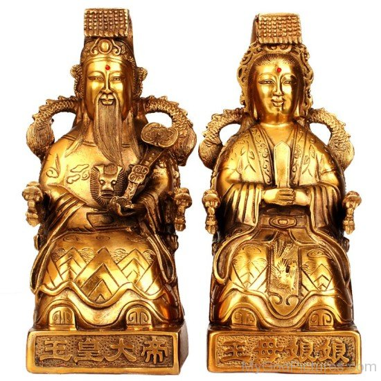 Statue Of Jade And Mother Queen-rbu719