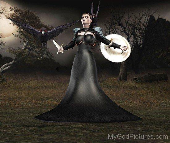 Badb Goddess Image-pd301