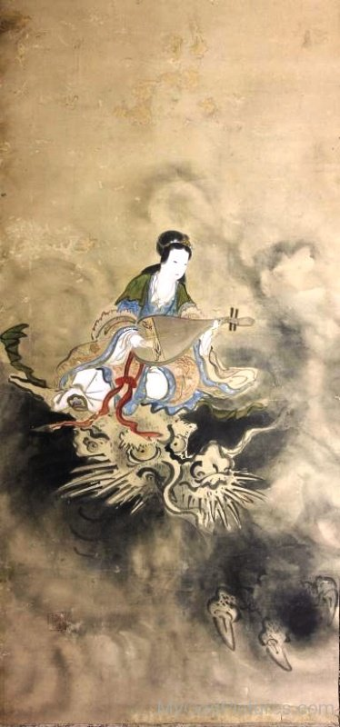 Goddess Benzaiten Image-ur408