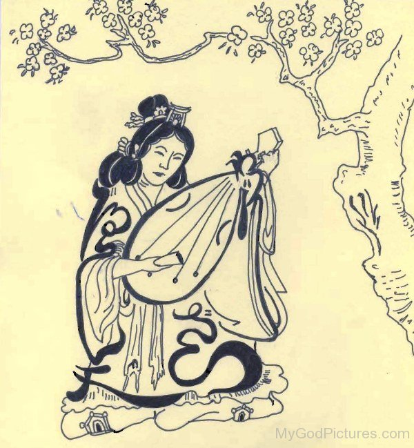Goddess Benzaiten Photo-ur410