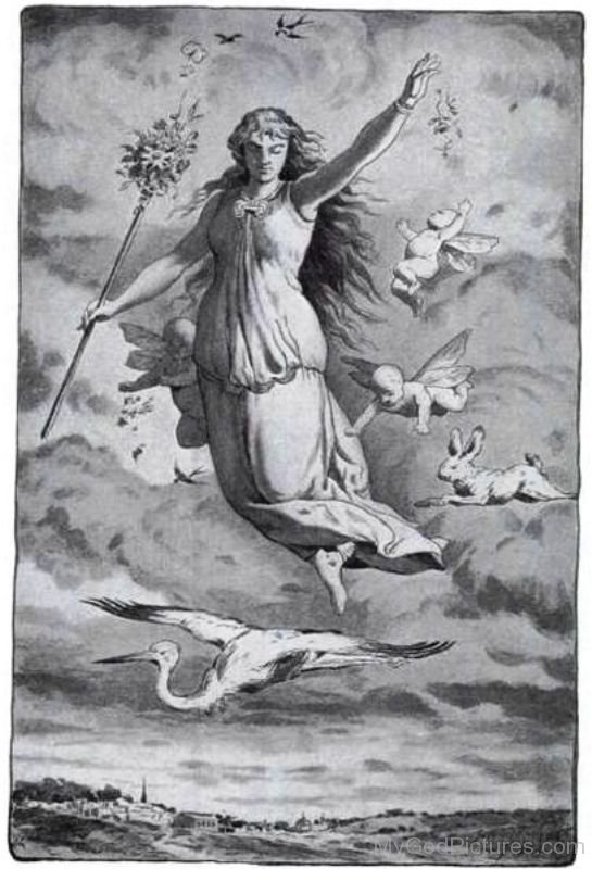 Goddess Eostre Picture-thw2312