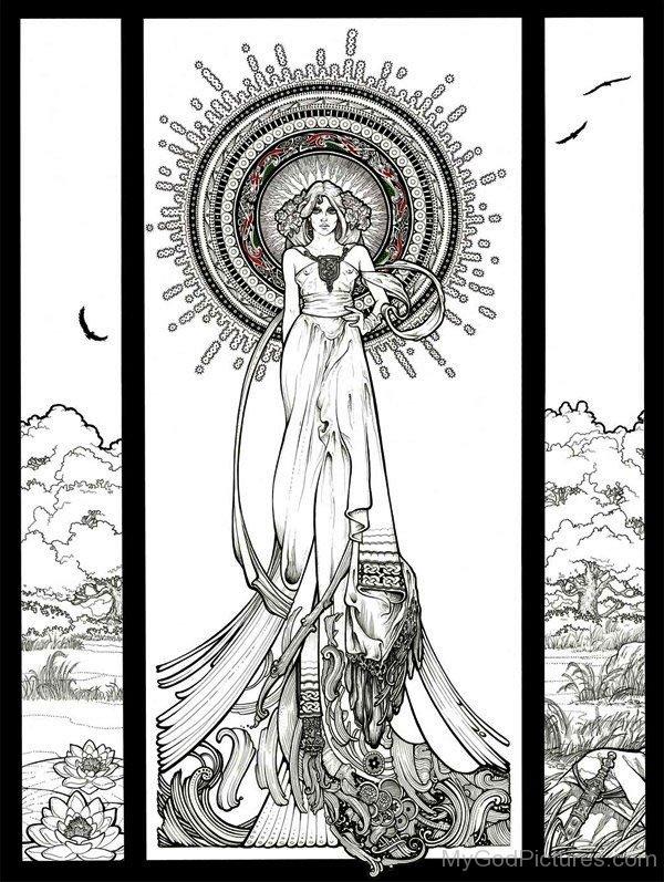 Goddess Eriu Image-els211