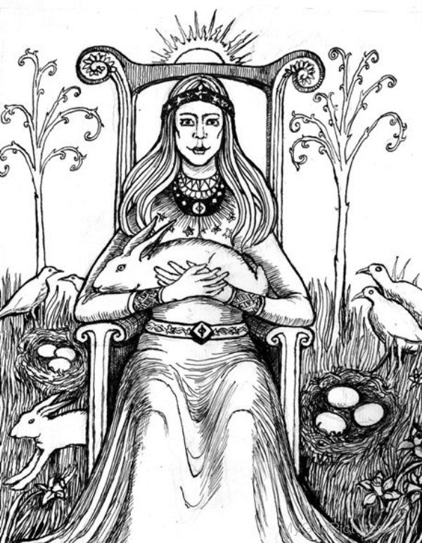 Image Of Goddess Eostre-thw2316