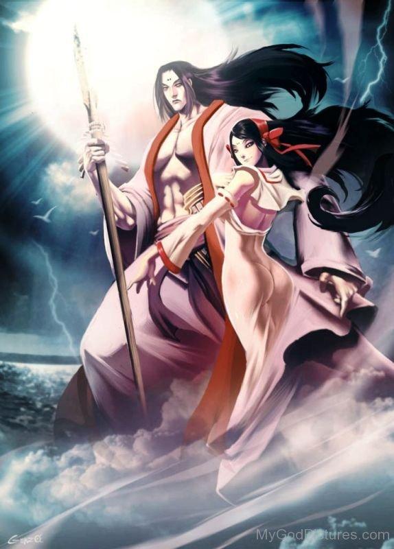 Izanagi With Izanami-hnn3408