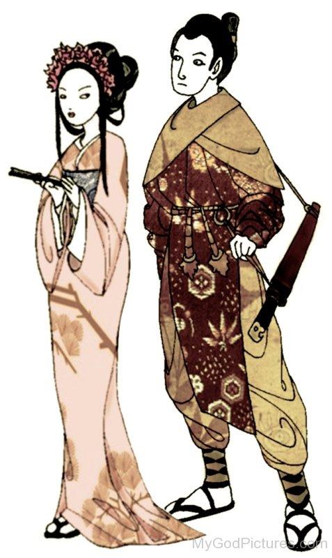 Izanami And Izanagi-hnn3409