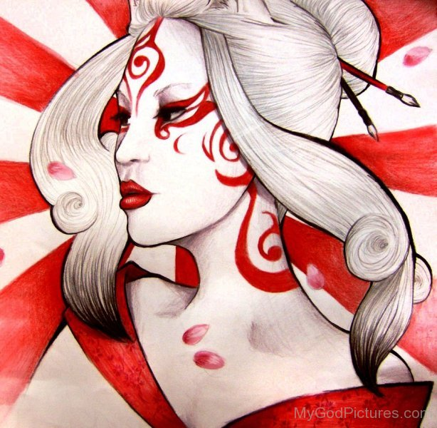 Photo Of Goddess Amaterasu-lmn6721