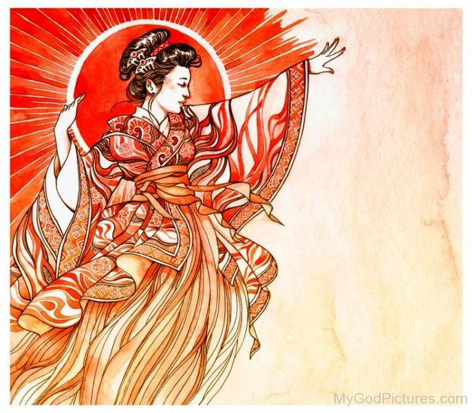 Picture Of Goddess Amaterasu-lmn6723