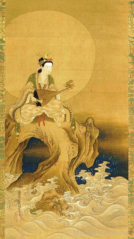 Picture Of Goddess Benzaiten-ur417