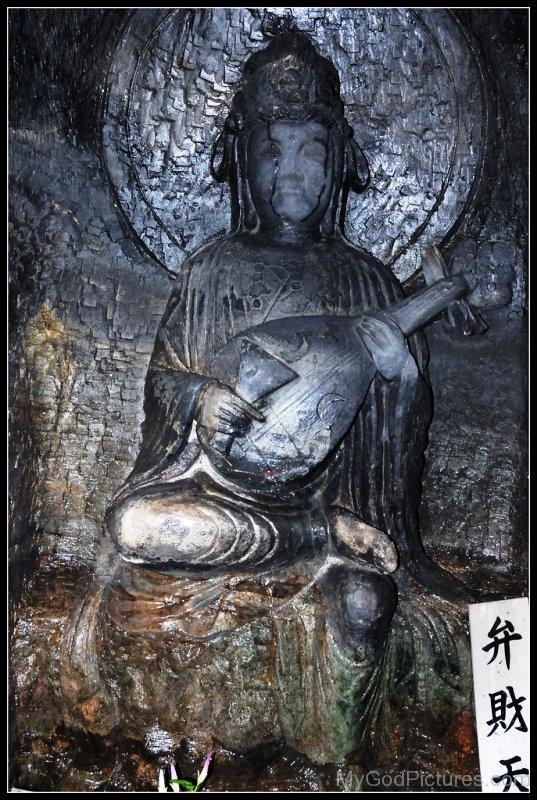 Sculpture Of Goddess Benzaiten-ur419
