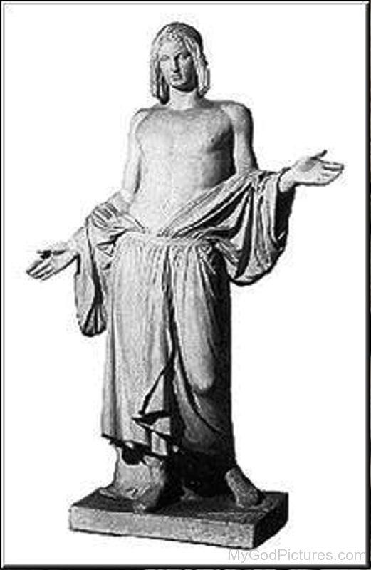 Statue Of Balder-tbd4314